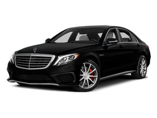 Obsidian Black Metallic 2014 Mercedes-Benz S-Class Pictures S-Class Sedan 4D S63 AMG AWD V8 Turbo photos front view