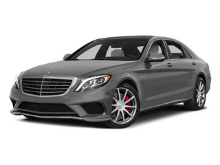 Palladium Silver Metallic 2014 Mercedes-Benz S-Class Pictures S-Class Sedan 4D S63 AMG AWD V8 Turbo photos front view