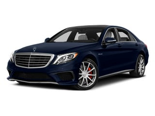 Lunar Blue Metallic 2014 Mercedes-Benz S-Class Pictures S-Class Sedan 4D S63 AMG AWD V8 Turbo photos front view