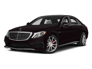 Ruby Black Metallic 2014 Mercedes-Benz S-Class Pictures S-Class Sedan 4D S63 AMG AWD V8 Turbo photos front view