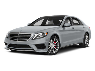 Diamond Silver Metallic 2014 Mercedes-Benz S-Class Pictures S-Class Sedan 4D S63 AMG AWD V8 Turbo photos front view