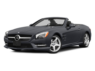 Shadow Grey Matte 2014 Mercedes-Benz SL-Class Pictures SL-Class Roadster 2D SL550 V8 Turbo photos front view