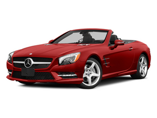 Hyacinth Red Metallic 2014 Mercedes-Benz SL-Class Pictures SL-Class Roadster 2D SL550 V8 Turbo photos front view