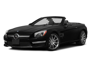 Obsidian Black Metallic 2014 Mercedes-Benz SL-Class Pictures SL-Class Roadster 2D SL63 AMG V8 Turbo photos front view