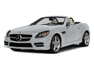 Diamond Silver Metallic 2014 Mercedes-Benz SLK-Class Pictures SLK-Class Roadster 2D SLK250 I4 Turbo photos front view