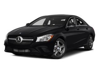 Cosmos Black Metallic 2014 Mercedes-Benz CLA-Class Pictures CLA-Class Sedan 4D CLA250 AWD I4 Turbo photos front view