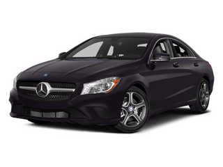 Northern Lights Violet Metallic 2014 Mercedes-Benz CLA-Class Pictures CLA-Class Sedan 4D CLA250 AWD I4 Turbo photos front view