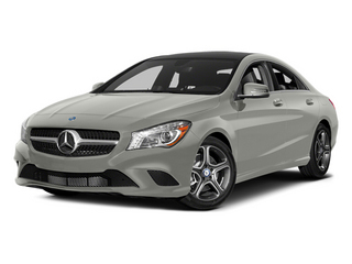 Polar Silver Metallic 2014 Mercedes-Benz CLA-Class Pictures CLA-Class Sedan 4D CLA250 AWD I4 Turbo photos front view
