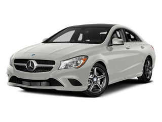Magno Polar Silver 2014 Mercedes-Benz CLA-Class Pictures CLA-Class Sedan 4D CLA250 AWD I4 Turbo photos front view