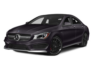Northern Lights Violet Metallic 2014 Mercedes-Benz CLA-Class Pictures CLA-Class Sedan 4D CLA45 AMG AWD I4 Turbo photos front view