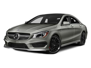 Polar Silver Metallic 2014 Mercedes-Benz CLA-Class Pictures CLA-Class Sedan 4D CLA45 AMG AWD I4 Turbo photos front view