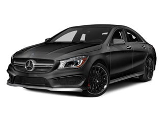 Mountain Gray Metallic 2014 Mercedes-Benz CLA-Class Pictures CLA-Class Sedan 4D CLA45 AMG AWD I4 Turbo photos front view