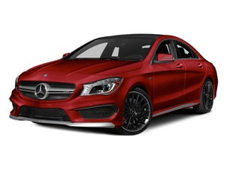 Patagonia Red 2014 Mercedes-Benz CLA-Class Pictures CLA-Class Sedan 4D CLA45 AMG AWD I4 Turbo photos front view