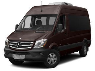 Earth Brown 2014 Mercedes-Benz Sprinter Passenger Vans Pictures Sprinter Passenger Vans Passenger Van photos front view