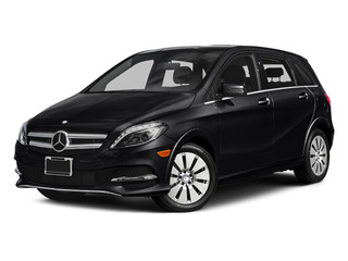 Night Black 2014 Mercedes-Benz B-Class Pictures B-Class Hatchback 5D Electric Drive photos front view