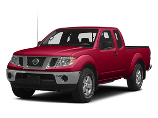 Lava Red 2014 Nissan Frontier Pictures Frontier King Cab SV 2WD photos front view