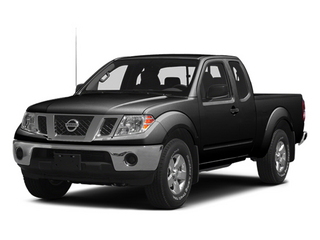 Super Black 2014 Nissan Frontier Pictures Frontier King Cab SV 2WD photos front view