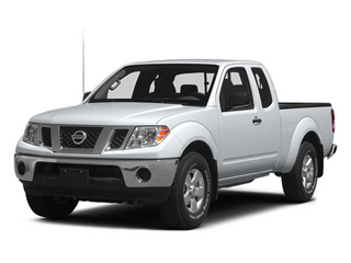 Glacier White 2014 Nissan Frontier Pictures Frontier King Cab SV 2WD photos front view