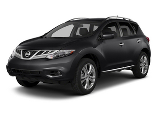 Sapphire Black Metallic 2014 Nissan Murano Pictures Murano Utility 4D LE AWD V6 photos front view