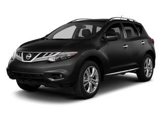 Super Black 2014 Nissan Murano Pictures Murano Utility 4D LE AWD V6 photos front view