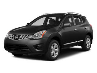 Super Black 2014 Nissan Rogue Select Pictures Rogue Select Utility 4D S 2WD I4 photos front view