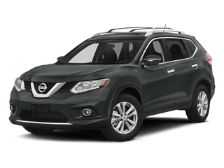Gun Metallic 2014 Nissan Rogue Pictures Rogue Utility 4D SL AWD I4 photos front view