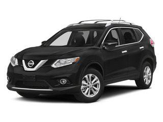 Super Black 2014 Nissan Rogue Pictures Rogue Utility 4D SL AWD I4 photos front view