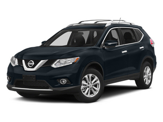 Graphite Blue 2014 Nissan Rogue Pictures Rogue Utility 4D SL AWD I4 photos front view