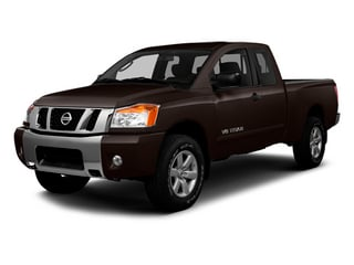 Espresso Black Metallic 2014 Nissan Titan Pictures Titan King Cab S 4WD photos front view