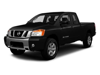 Galaxy Black Metallic 2014 Nissan Titan Pictures Titan King Cab S 4WD photos front view