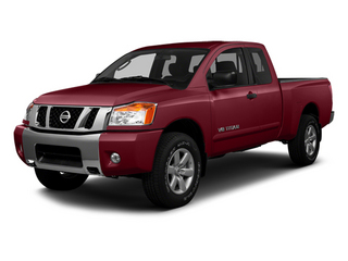 Venetian Ruby 2014 Nissan Titan Pictures Titan King Cab S 4WD photos front view