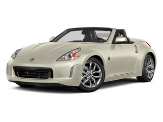 Pearl White 2014 Nissan 370Z Pictures 370Z Roadster 2D Touring V6 photos front view