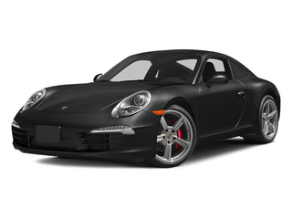 Black 2014 Porsche 911 Pictures 911 Coupe 2D Turbo AWD H6 photos front view