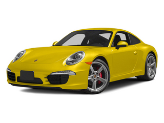 Racing Yellow 2014 Porsche 911 Pictures 911 Coupe 2D Turbo AWD H6 photos front view