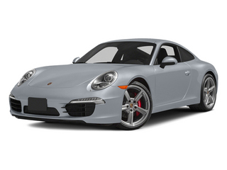 Rhodium Silver Metallic 2014 Porsche 911 Pictures 911 Coupe 2D Turbo AWD H6 photos front view