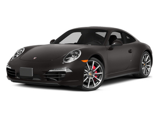 Anthracite Brown Metallic 2014 Porsche 911 Pictures 911 Coupe 2D 4S AWD H6 photos front view