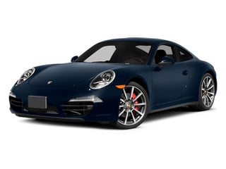 Dark Blue Metallic 2014 Porsche 911 Pictures 911 Coupe 2D 4S AWD H6 photos front view