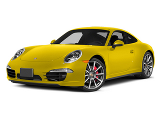 Racing Yellow 2014 Porsche 911 Pictures 911 Coupe 2D 4S AWD H6 photos front view