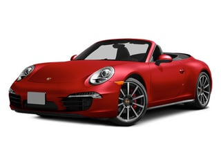 Guards Red 2014 Porsche 911 Pictures 911 Cabriolet 2D 4 AWD H6 photos front view