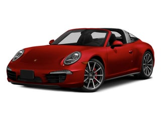 Guards Red 2014 Porsche 911 Pictures 911 Coupe 2D 4 Targa AWD photos front view