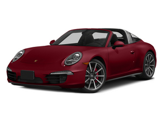 Amaranth Red Metallic 2014 Porsche 911 Pictures 911 Coupe 2D 4 Targa AWD photos front view