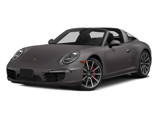 Agate Gray Metallic 2014 Porsche 911 Pictures 911 Coupe 2D 4 Targa AWD photos front view
