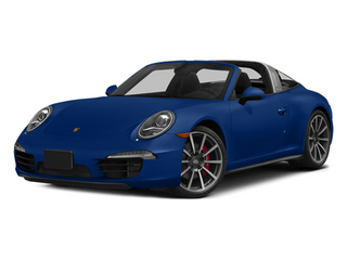 Sapphire Blue Metallic 2014 Porsche 911 Pictures 911 Coupe 2D 4 Targa AWD photos front view