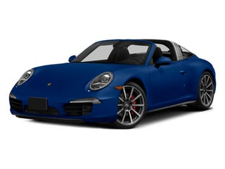 Sapphire Blue Metallic 2014 Porsche 911 Pictures 911 Coupe 2D 4S Targa AWD photos front view