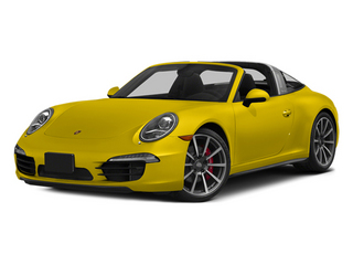 Racing Yellow 2014 Porsche 911 Pictures 911 Coupe 2D 4S Targa AWD photos front view