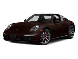 Mahogany Metallic 2014 Porsche 911 Pictures 911 Coupe 2D 4 Targa AWD photos front view