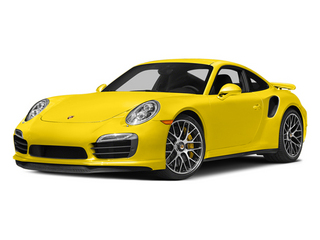 Racing Yellow 2014 Porsche 911 Pictures 911 Coupe 2D Turbo S AWD H6 photos front view