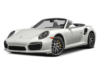 White 2014 Porsche 911 Pictures 911 Cabriolet 2D AWD H6 Turbo photos front view