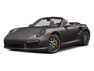 Anthracite Brown Metallic 2014 Porsche 911 Pictures 911 Cabriolet 2D AWD H6 Turbo photos front view
