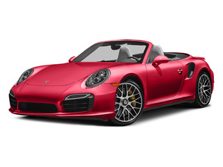 Guards Red 2014 Porsche 911 Pictures 911 Cabriolet 2D AWD H6 Turbo photos front view